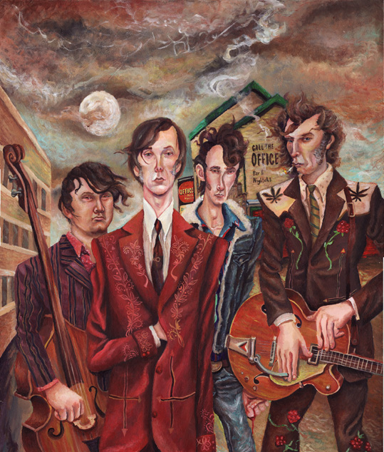 "The Sadies premiere second single ""It's Easy (Like Walking)"" feat. Kurt Vile"