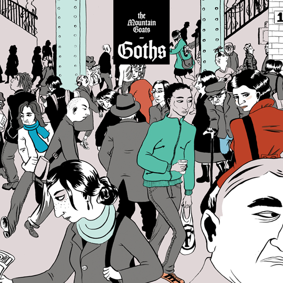 The Mountain Goats sharpen their eyeliner and return with new album 'Goths'