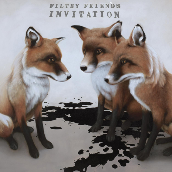 Filthy Friends release debut album 'Invitation' 25th August on Kill Rock Stars