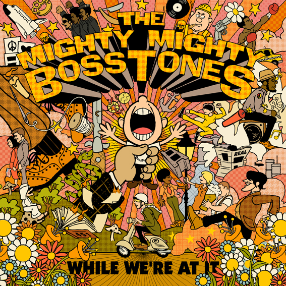 The Mighty Mighty Bosstones announce new album 'While We're At It' out 27th July