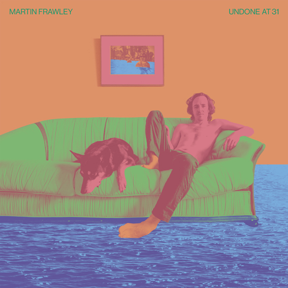 Martin Frawley of Twerps announces solo debut album 'Undone at 31' on Merge Records