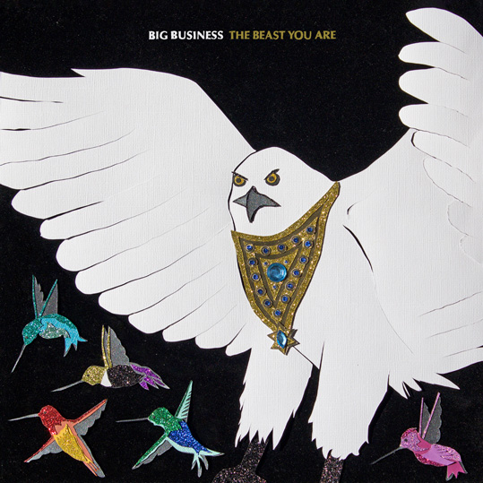 Big Business announce new album 'The Beast You Are' out 12th April on Joyful Noise Recordings