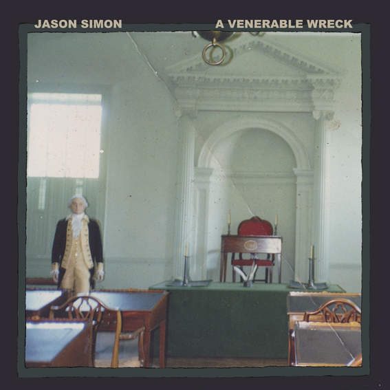 Jason Simon (Dead Meadow) to release solo album 'A Venerable Wreck' on May 22 via BYM Records