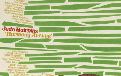 Jade Hairpins announce debut album 'Harmony Avenue' out May 29 on Merge Records