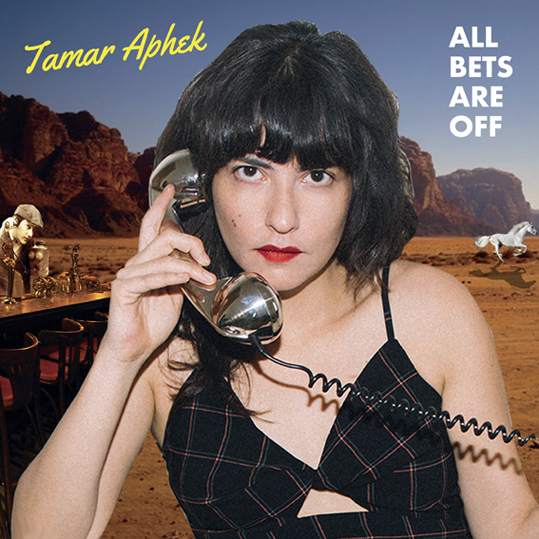 Tamar Aphek to release debut solo album 'All Bets Are Off' out 29th January on Kill Rock Stars