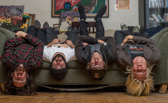 """Watch the new video for Audacity's """"Dirty Boy"""" and catch them on tour in June!"""