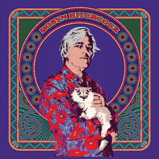 Iconic British artist, Robyn Hitchcock announces self-titled new album out 21st April