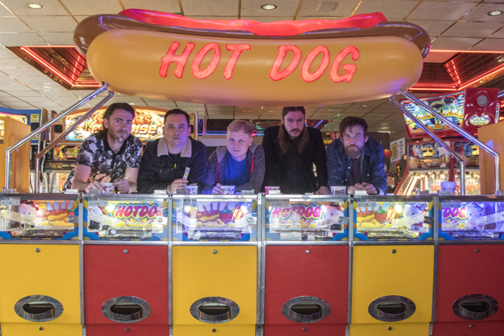 """Newcastle's Pigs Pigs Pigs Pigs Pigs Pigs Pigs  share video for new single, """"GNT"""" from forthcoming album 'King of Cowards'"""