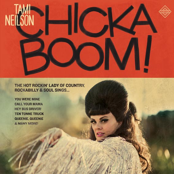 Tami Neilson returns with new album, CHICKABOOM! out February 14th via Outside Music