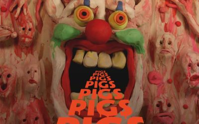 """Pigs Pigs Pigs Pigs Pigs Pigs Pigs share video for """"Rubbernecker"""" and announce more shows for November!"""